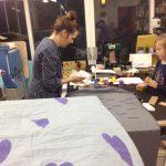 stamping fabric